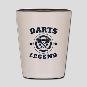 Darts Legend Shot Glass