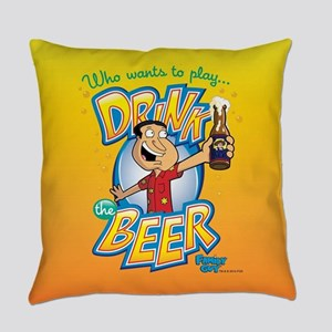 Family Guy Drink the Beer Everyday Pillow