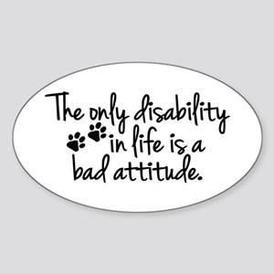 The Only Disability Sticker