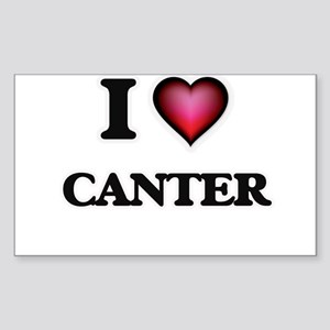 I love Canter Sticker