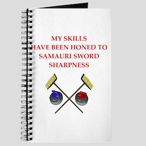 Curling joke Journal
