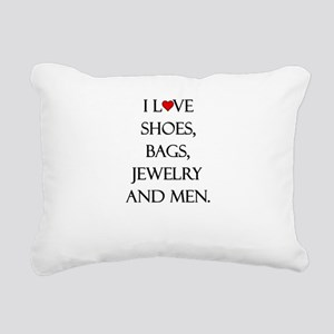 I love shoes, bags, jewelry and men. Rectangular C