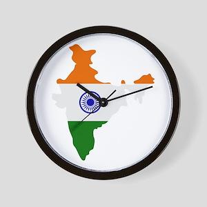 india map Wall Clock