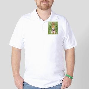 Serval Cat Golf Shirt