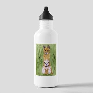 Serval Cat Water Bottle