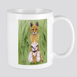 Serval Cat Mugs