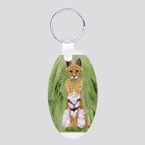 Serval Cat Keychains