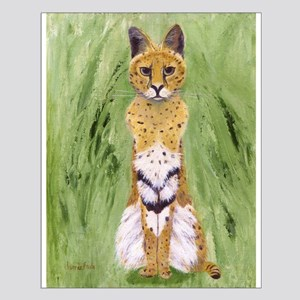 Serval Cat Posters