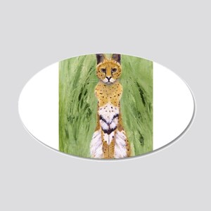 Serval Cat Wall Decal