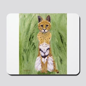 Serval Cat Mousepad