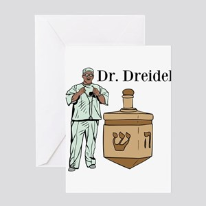 Dr. Dreidel Greeting Card