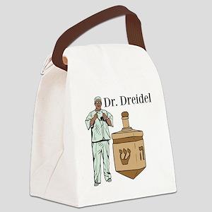Dr. Dreidel Canvas Lunch Bag
