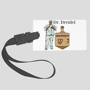 Dr. Dreidel Large Luggage Tag