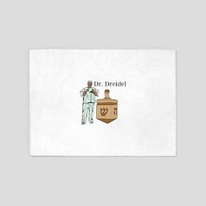 Dr. Dreidel 5'x7'Area Rug