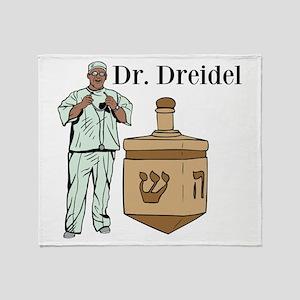 Dr. Dreidel Throw Blanket