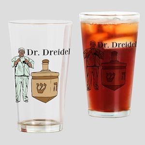 Dr. Dreidel Drinking Glass