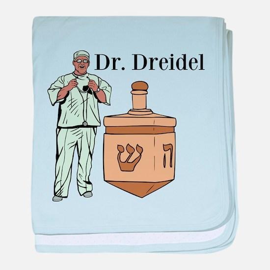 Dr. Dreidel baby blanket