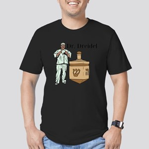 Dr. Dreidel Men's Fitted T-Shirt (dark)