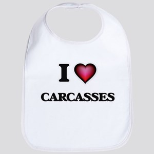 I love Carcasses Bib