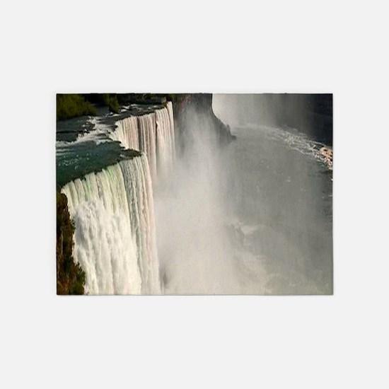 Niagara falls 5'x7'Area Rug