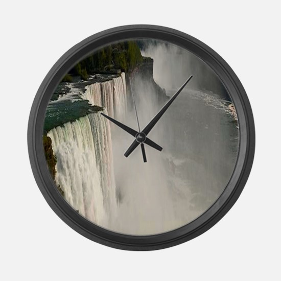 Niagara falls Large Wall Clock