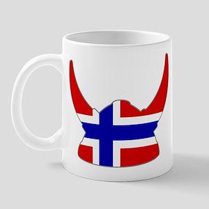 Norwegian Viking Helmet Mug