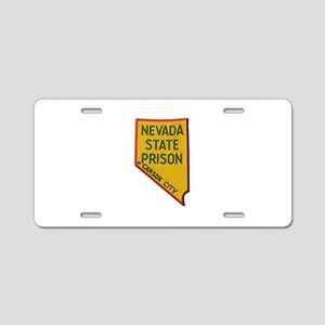 Nevada State Prison Aluminum License Plate