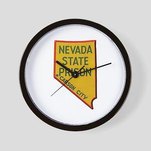 Nevada State Prison Wall Clock