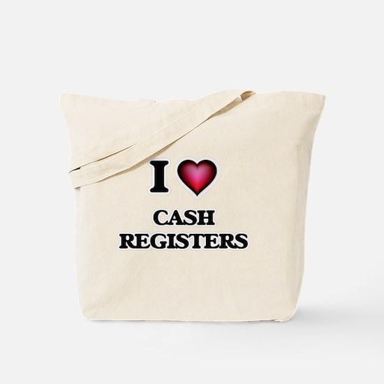 I love Cash Registers Tote Bag