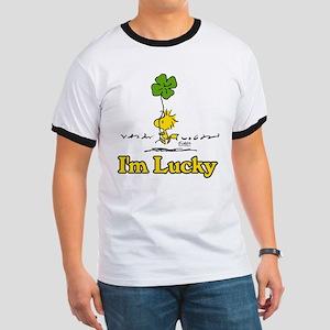 Peanuts Woodstock Lucky Ringer T