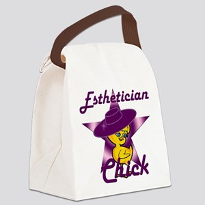Esthetician Chick #9 Canvas Lunch Bag