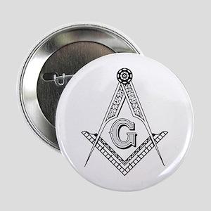 "Masonic Symbol 2.25"" Button"