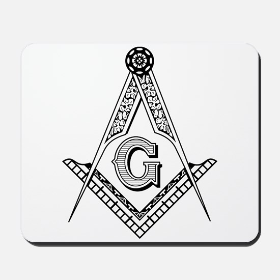 Masonic Symbol Mousepad