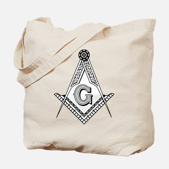 Masonic Symbol Tote Bag