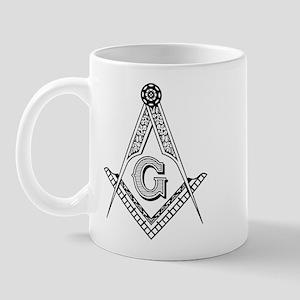 Masonic Symbol Mug