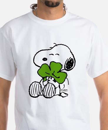 Snoopy Hugging Clover Shirt