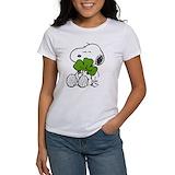 Peanuts st patricks day Women's T-Shirt