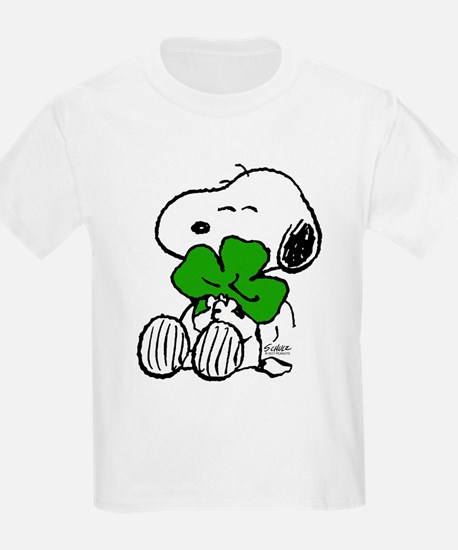 Snoopy Hugging Clover T-Shirt