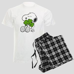 Snoopy Hugging Clover Men's Light Pajamas