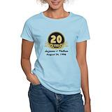 20 year wedding anniversary Women's Light T-Shirt