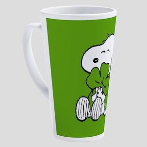 Peanuts Woodstock Lucky 17 oz Latte Mug