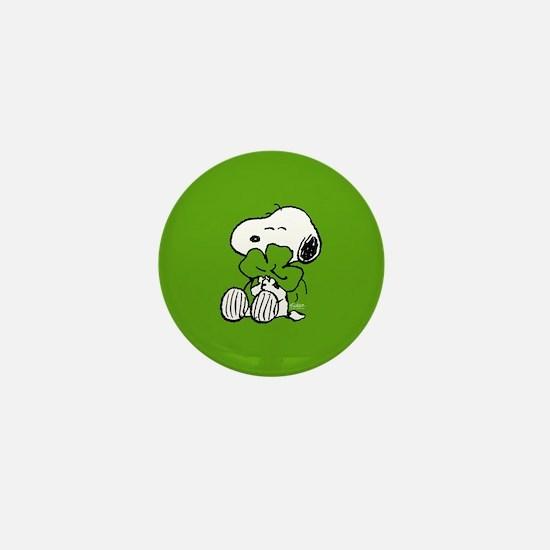 Peanuts Woodstock Lucky Mini Button