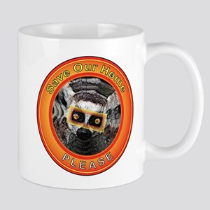 Save Our Home: Lemurs Mug