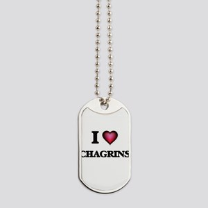 I love Chagrins Dog Tags