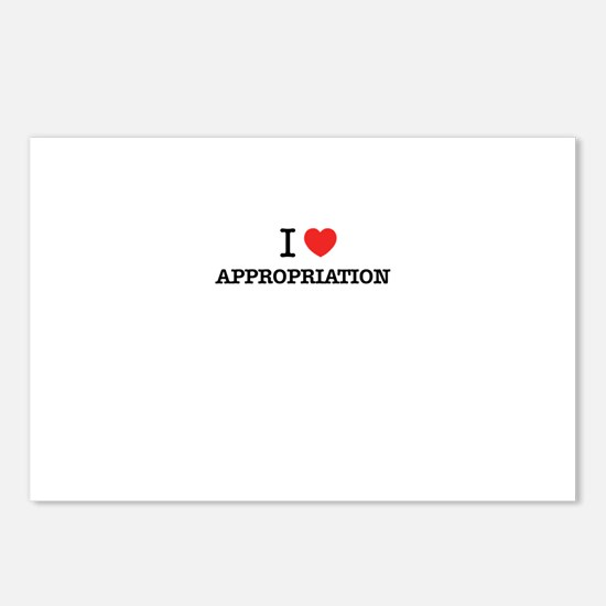 I Love APPROPRIATION Postcards (Package of 8)