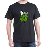 Peanuts st patricks Mens Classic Dark T-Shirts