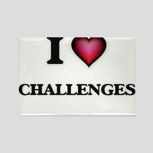 I love Challenges Magnets