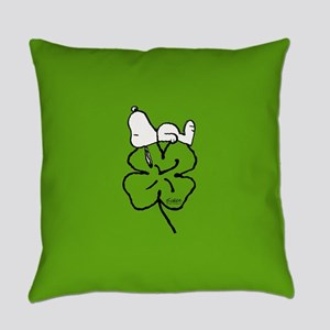 Peanuts Woodstock Lucky Everyday Pillow