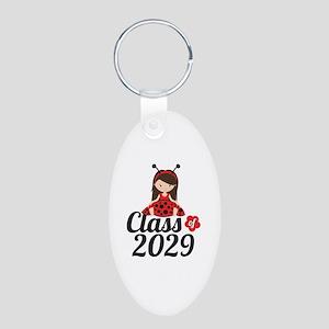 Class of 2029 Aluminum Oval Keychain