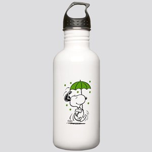 Snoopy Raining Clovers Stainless Water Bottle 1.0L